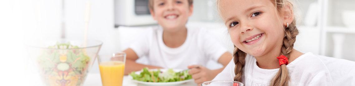 Zondag eten kinderen gratis
