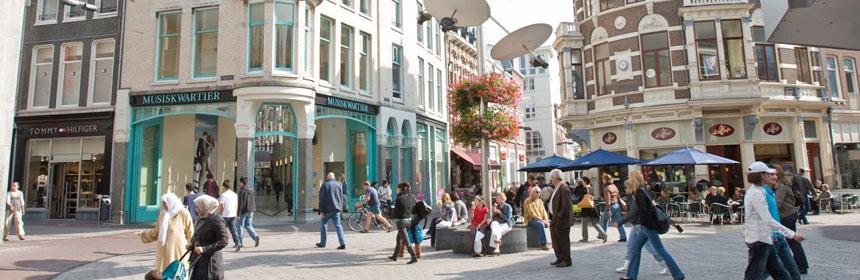 Winkelen in de stad